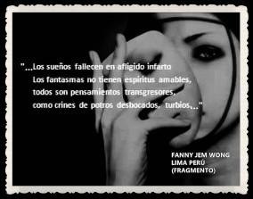 FANNY JEM WONG -FRAGMENTOS DE POESÍA- POETA PERUANA (25)