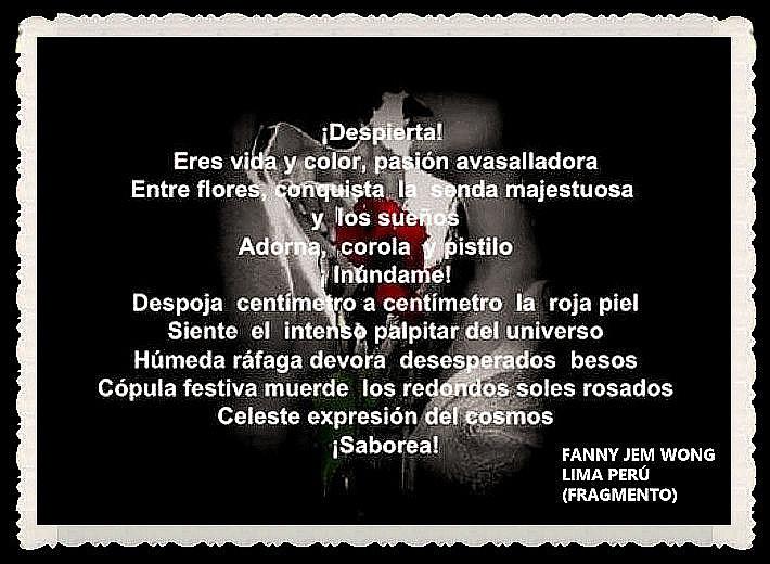 FANNY JEM WONG -FRAGMENTOS DE POESÍA- POETA PERUANA (28)