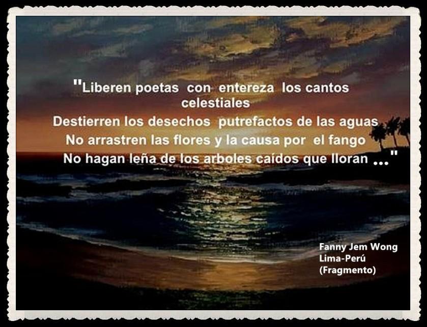 FANNY JEM WONG -FRAGMENTOS DE POESÍA- POETA PERUANA (3)