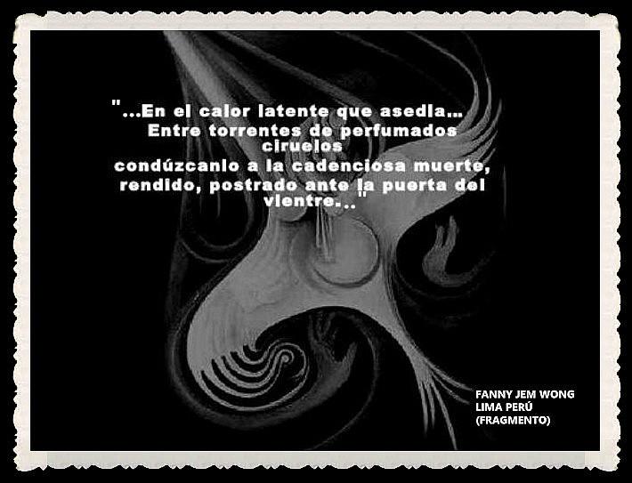 FANNY JEM WONG -FRAGMENTOS DE POESÍA- POETA PERUANA (32)