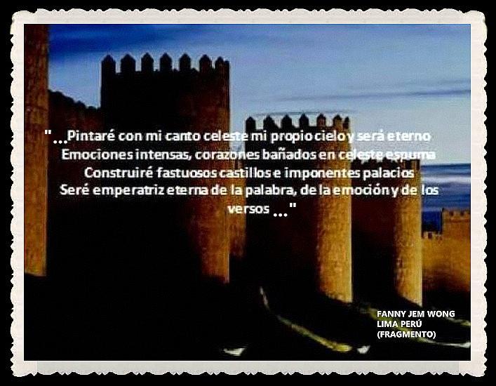 FANNY JEM WONG -FRAGMENTOS DE POESÍA- POETA PERUANA (33)