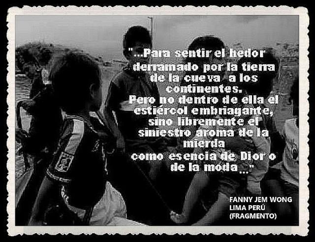 FANNY JEM WONG -FRAGMENTOS DE POESÍA- POETA PERUANA (41)