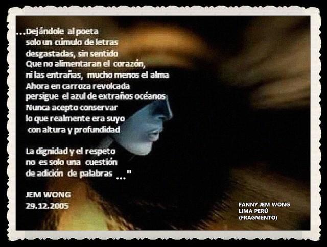 FANNY JEM WONG -FRAGMENTOS DE POESÍA- POETA PERUANA (43)