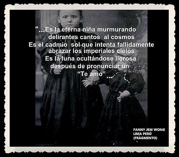 FANNY JEM WONG -FRAGMENTOS DE POESÍA- POETA PERUANA (44)