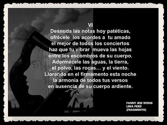 FANNY JEM WONG -FRAGMENTOS DE POESÍA- POETA PERUANA (47)