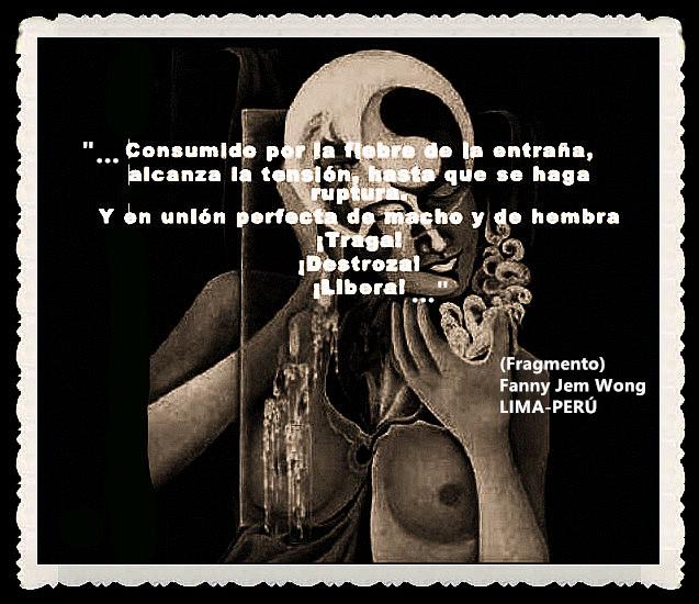 FANNY JEM WONG -FRAGMENTOS DE POESÍA- POETA PERUANA (53)