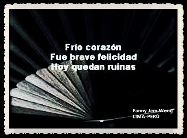 FANNY JEM WONG -FRAGMENTOS DE POESÍA- POETA PERUANA (58)