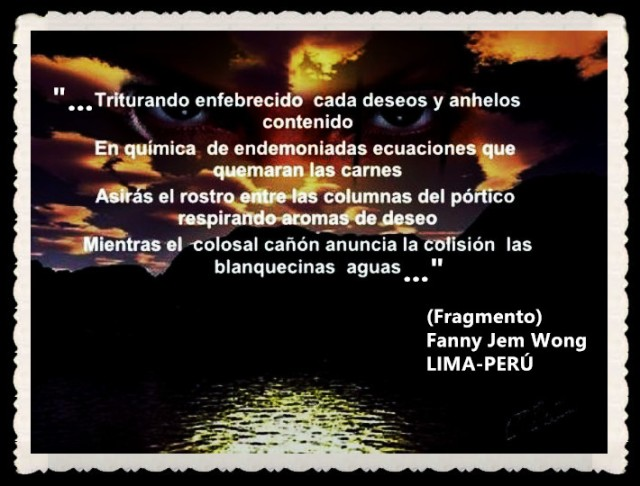 FANNY JEM WONG -FRAGMENTOS DE POESÍA- POETA PERUANA (67)