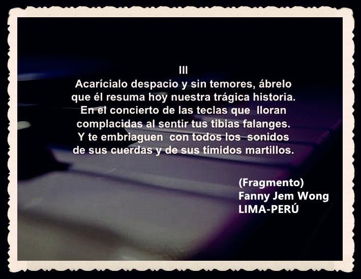 FANNY JEM WONG -FRAGMENTOS DE POESÍA- POETA PERUANA (68)