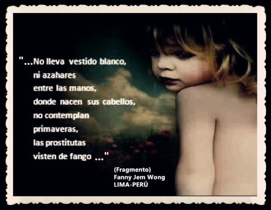 FANNY JEM WONG -FRAGMENTOS DE POESÍA- POETA PERUANA (69)