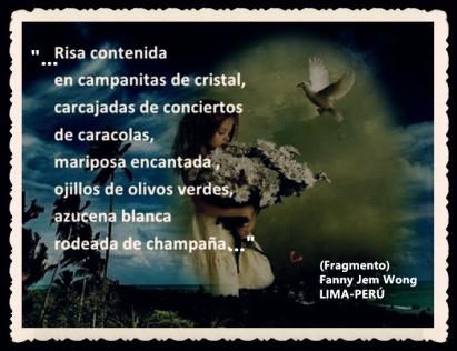 FANNY JEM WONG -FRAGMENTOS DE POESÍA- POETA PERUANA (78)
