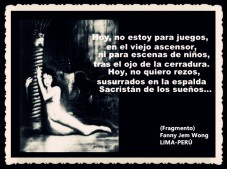 FANNY JEM WONG -FRAGMENTOS DE POESÍA- POETA PERUANA (79)