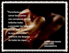 FANNY JEM WONG -FRAGMENTOS DE POESÍA- POETA PERUANA (8)