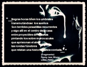 FANNY JEM WONG -FRAGMENTOS DE POESÍA- POETA PERUANA (85)