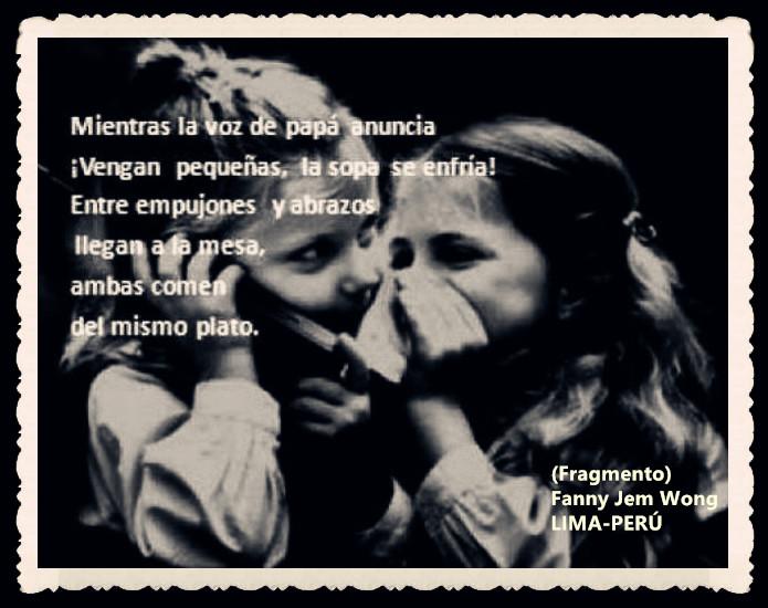 FANNY JEM WONG -FRAGMENTOS DE POESÍA- POETA PERUANA (87)