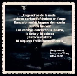 FANNY JEM WONG -FRAGMENTOS DE POESÍA- POETA PERUANA (88)