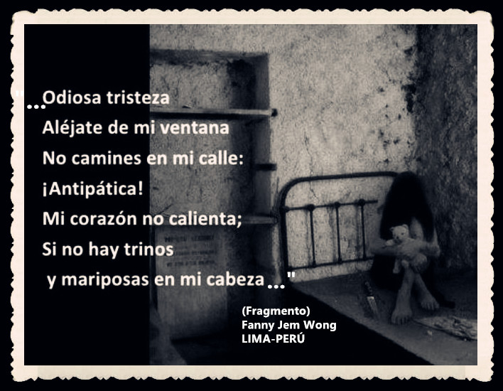 FANNY JEM WONG -FRAGMENTOS DE POESÍA- POETA PERUANA (89)