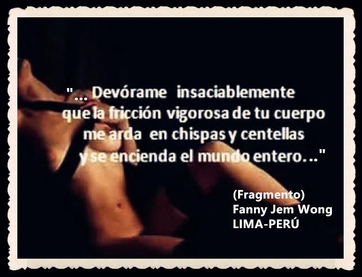 FANNY JEM WONG -FRAGMENTOS DE POESÍA- POETA PERUANA (91)