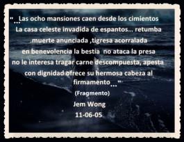 FANNY JEM WONG -FRAGMENTOS DE POESÍA- POETA PERUANA (92)