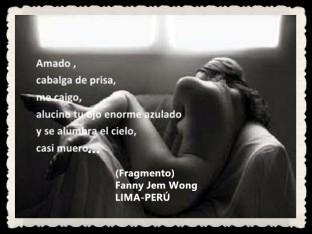 FANNY JEM WONG -FRAGMENTOS DE POESÍA- POETA PERUANA (93)
