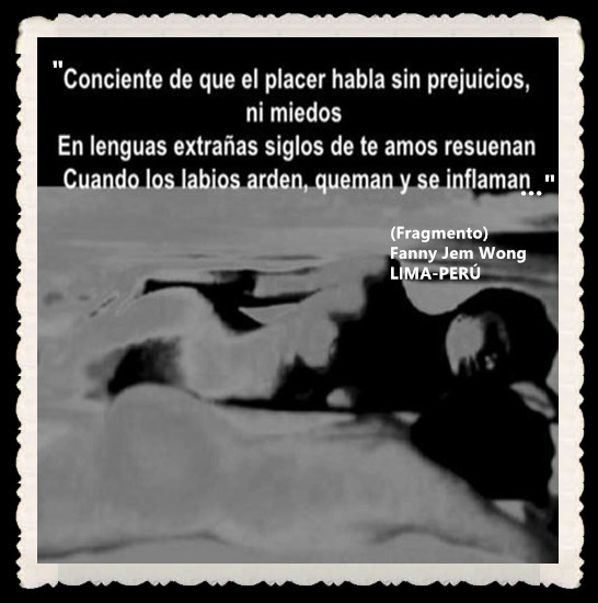 FANNY JEM WONG -FRAGMENTOS DE POESÍA- POETA PERUANA (94)