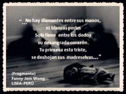 FANNY JEM WONG -FRAGMENTOS DE POESÍA- POETA PERUANA (97)
