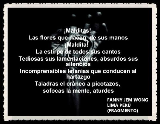 FANNY JEM WONG -FRAGMENTOS DE POESÍAS - CALLAO LIMA PERÚ (2)