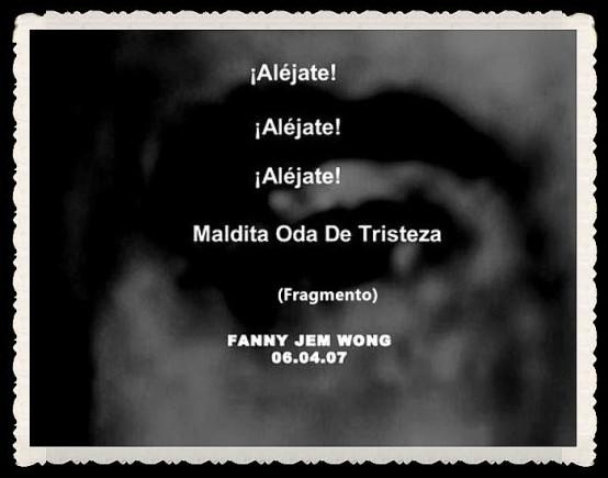 FANNY JEM WONG -FRAGMENTOS DE POESÍAS - CALLAO LIMA PERÚ (3)