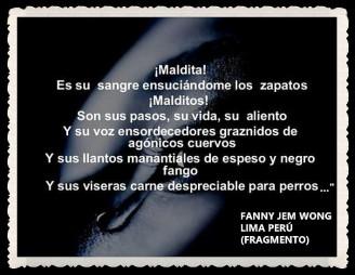FANNY JEM WONG -FRAGMENTOS DE POESÍAS - CALLAO LIMA PERÚ (4)