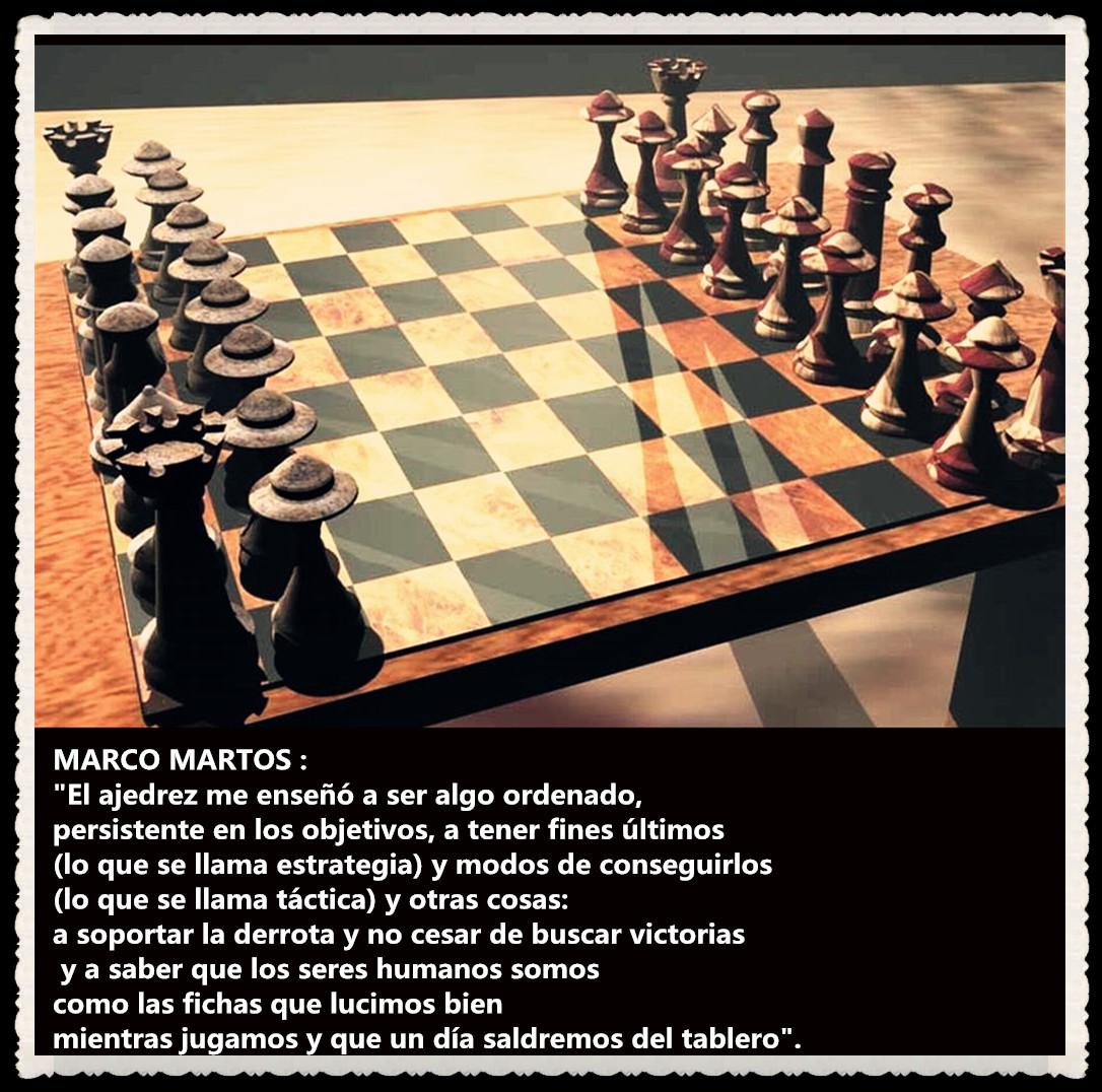 POEMA :  AJEDREZ POR MARCO MARTOS CARRERA