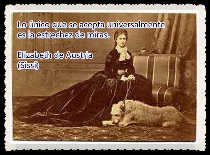 """ELISABETH """"SISSI"""", Emperatriz de Austria1837-1898"""