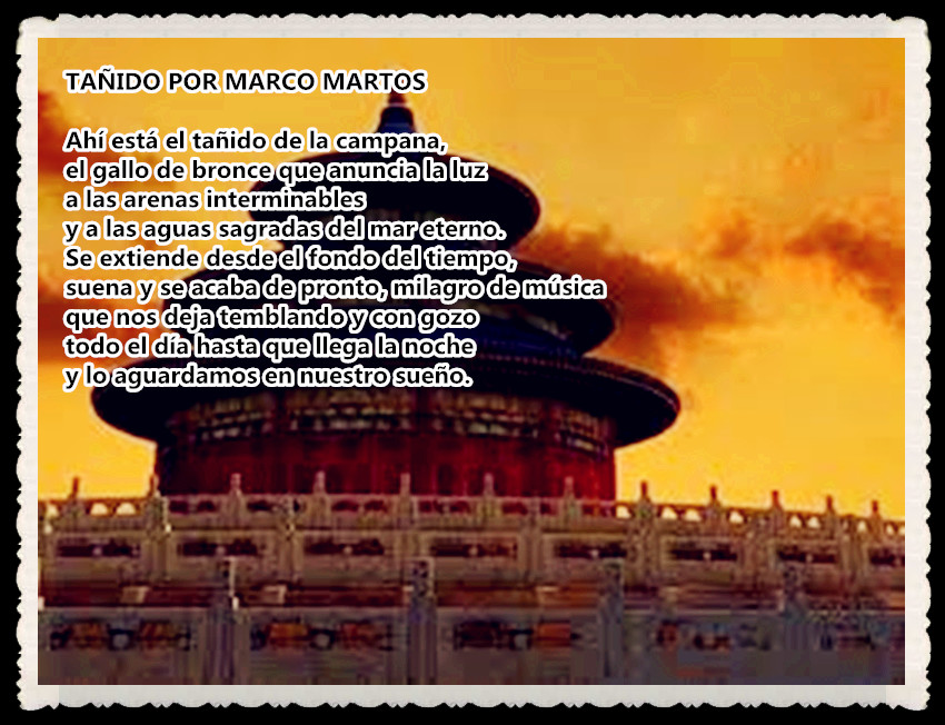 POEMA: TAÑIDO POR MARCO MARTOS
