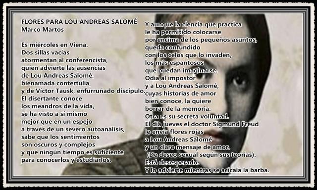 POEMAS  DE MARCO MARTOS UNMSM  (3)LOU ANDREAS-SALOMÉ