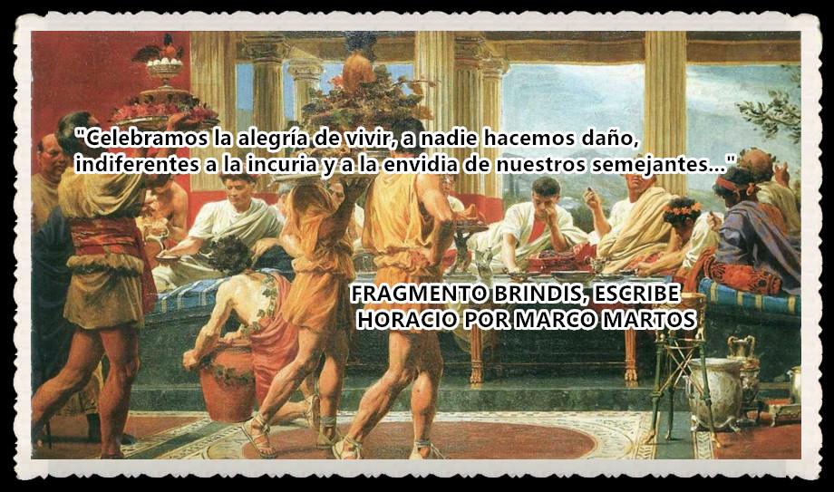 BRINDIS, ESCRIBE HORACIO POR MARCOMARTOS