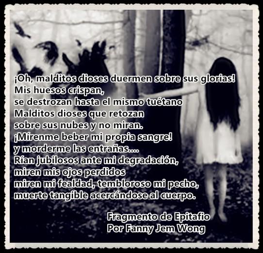 19 Fragmento de Epitafio Por Fanny Jem Wong