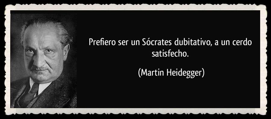 MARTÍN HEIDEGGER (1987) DE CAMINO ALHABLA