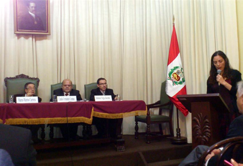 HOMENAJE POR LOS 25 AÑOS DE CRÍTICO LITERARIO DEL DR. CAMILO FERNÁNDEZ COZMAN - (2)