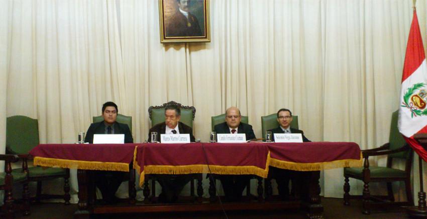 HOMENAJE POR LOS 25 AÑOS DE CRÍTICO LITERARIO DEL DR. CAMILO FERNÁNDEZ COZMAN - (3)
