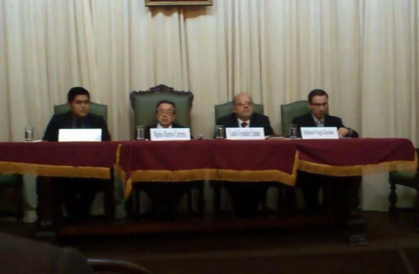 HOMENAJE POR LOS 25 AÑOS DE CRÍTICO LITERARIO DEL DR. CAMILO FERNÁNDEZ COZMAN - (61)