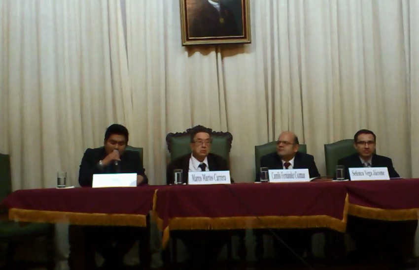 HOMENAJE POR LOS 25 AÑOS DE CRÍTICO LITERARIO DEL DR. CAMILO FERNÁNDEZ COZMAN - (62)