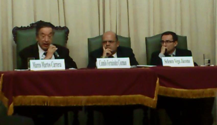 HOMENAJE POR LOS 25 AÑOS DE CRÍTICO LITERARIO DEL DR. CAMILO FERNÁNDEZ COZMAN - (64)