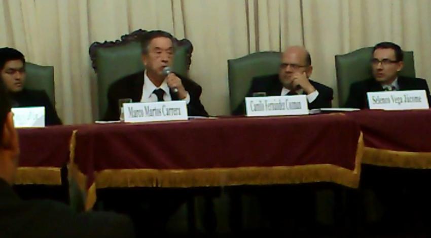 HOMENAJE POR LOS 25 AÑOS DE CRÍTICO LITERARIO DEL DR. CAMILO FERNÁNDEZ COZMAN - (65)