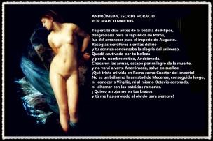 ANDRÓMEDA ESCRIBE HORACIOPOR MARCO MARTOS
