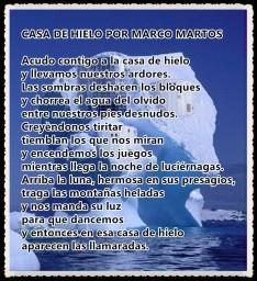CASA DE HIELO POR MARCO MARTOS