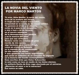 LA NOVIA DEL VIENTO POR MARCO MARTOS
