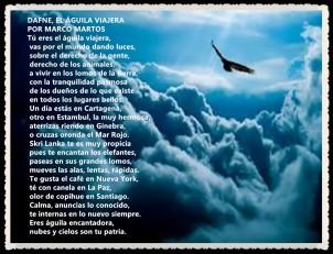 DAFNE, EL ÁGUILA VIAJERA POR Marco Martos