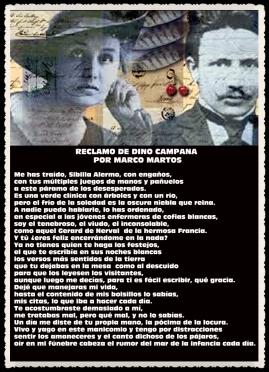 RECLAMO DE DINO CAMPANA POR MARCO MARTOS