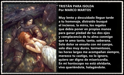 TRISTÁN PARA ISOLDA POR MARCO MARTOS 2