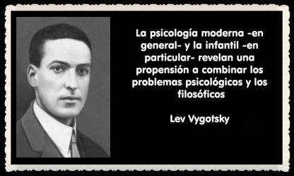 Lev Semiónovich Vygotski o Lev Vygotsky psicólogo ruso FRASES (2)