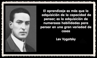 Lev Semiónovich Vygotski o Lev Vygotsky psicólogo ruso FRASES (6)
